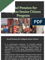 Social Pension Presentation