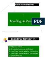 1a Branding an Overview(Parekh Sir)