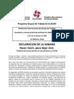 GT - Declaracion de La Habana
