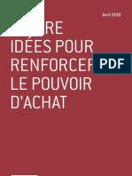Quatre idées pour renforcer le pouvoir d'achat - Pascal Perri