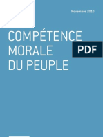 La compétence morale du peuple - Raymond Boudon