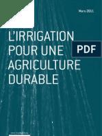 L'irrigation pour une agriculture durable - Jean-Paul Renoux