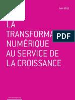 La transformation numérique au service de la croissance - Jean-Pierre Corniou