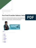 US Fast Food Franchise