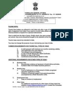 SA Indian Visa Application Form