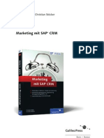 Sappress Marketing Mit Sap Crm