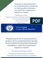 Presentación LGBT/Queer Studies:Toward Trans/national Scholarly and Activist KinshipsAn International Conference