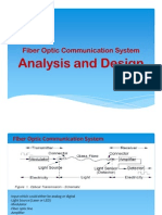 Fiber Optic Comm System