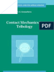 Contact Mechanics in Tribology