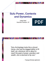 Ppt - WADI - Sulu Power, Contexts and Dynamics