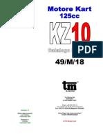 Motore Kart 125cc KZ10 v1p1