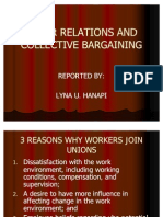Labor Relations and Collective Bargaining