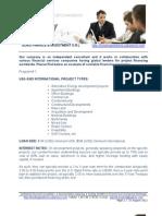 Presentation Offer - Loans and JV Financing