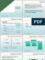 01-Overview and Descriptive Statistics
