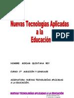 Las nuevas tecnologías de la información y comunicación (trabajo)
