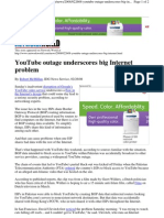 BGP and Youtube