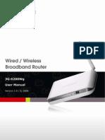 BR 3G6200Wg Manual