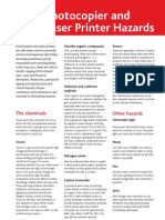Printers and Ozone Hazards