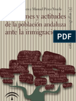 Opiniones y actitudes de la población andaluza ante la inmigración