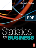Statistics for Business