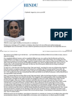 Arundhati Roy - I'd Rather Not Be Anna