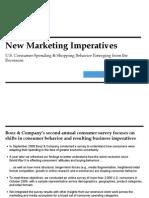 2010 Consumer Spending Survey New Marketing Imperatives