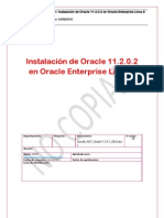 Instalación de Oracle 11.2.0.2 en Oracle Enterprise Linux 6