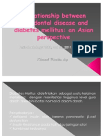 Present Periodontal & DM