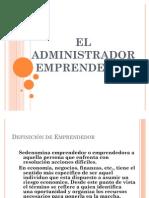 EL ADMINISTRADOR EMPRENDEDOR