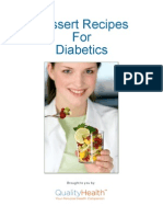 Dessert Recipes for Diabetics