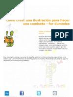 Cómo crear una ilustración para hacer una camiseta – for dummies