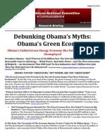 Debunking Obama's Myths