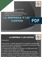 Presentacion La Empresa y Los Costos