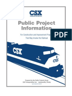 CSX Transportation - Public Project Information
