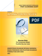 2011 DTSS PCA Internal Control Review