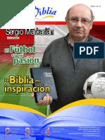 60899492 Sergio Markarian El Futbol Es Mi Pasion La Biblia Mi Inspiracion Boletin SBP