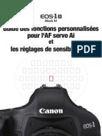 Guide Des Fonctions AF & ISO EOS 1D MkIV-1