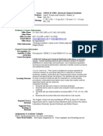 UT Dallas Syllabus for chem3471.002.11f taught by John Ferraris (ferraris)
