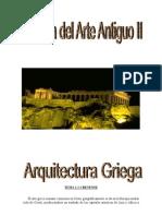 Historia Del Arte Antiguo II (Arquitectura Griega)