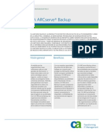Arcserve 125 Productbief Spa