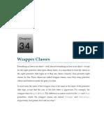34 Wrapper Classes
