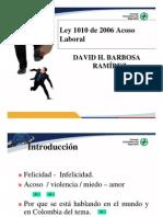 Diapositivas LEY de Acoso Laboral CCS