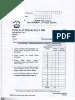Kertas 2 Trial Math PMR NS 2011