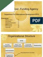 Field Officer for Funding Agency