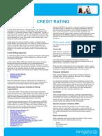 E-book Credit Ratings