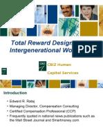 Total Reward Design for an Intergenerational Workforce