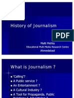 History of Print Media