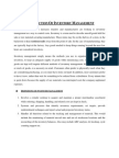 Introduction of Inventory Management Selected