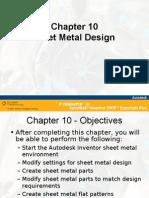 Chapter 10 Sheet Metal Design