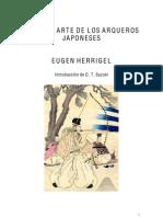 Eugen Herrigel El Zen y El Arte Del Tiro Con Arco